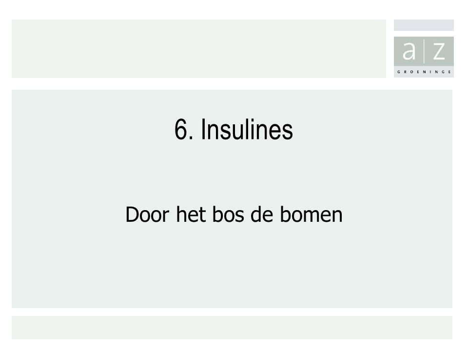 6. Insulines Door het bos de bomen