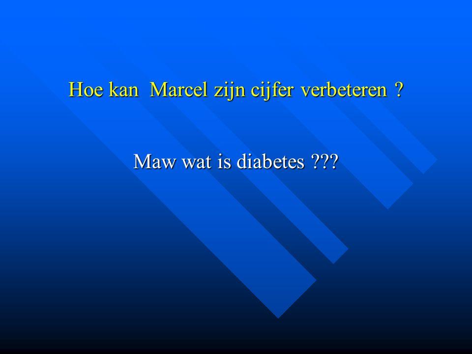 Hoe kan Marcel zijn cijfer verbeteren