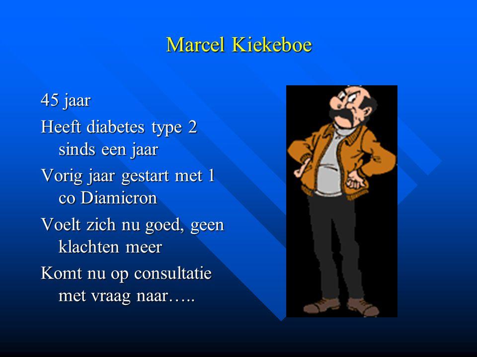 Marcel Kiekeboe 45 jaar Heeft diabetes type 2 sinds een jaar