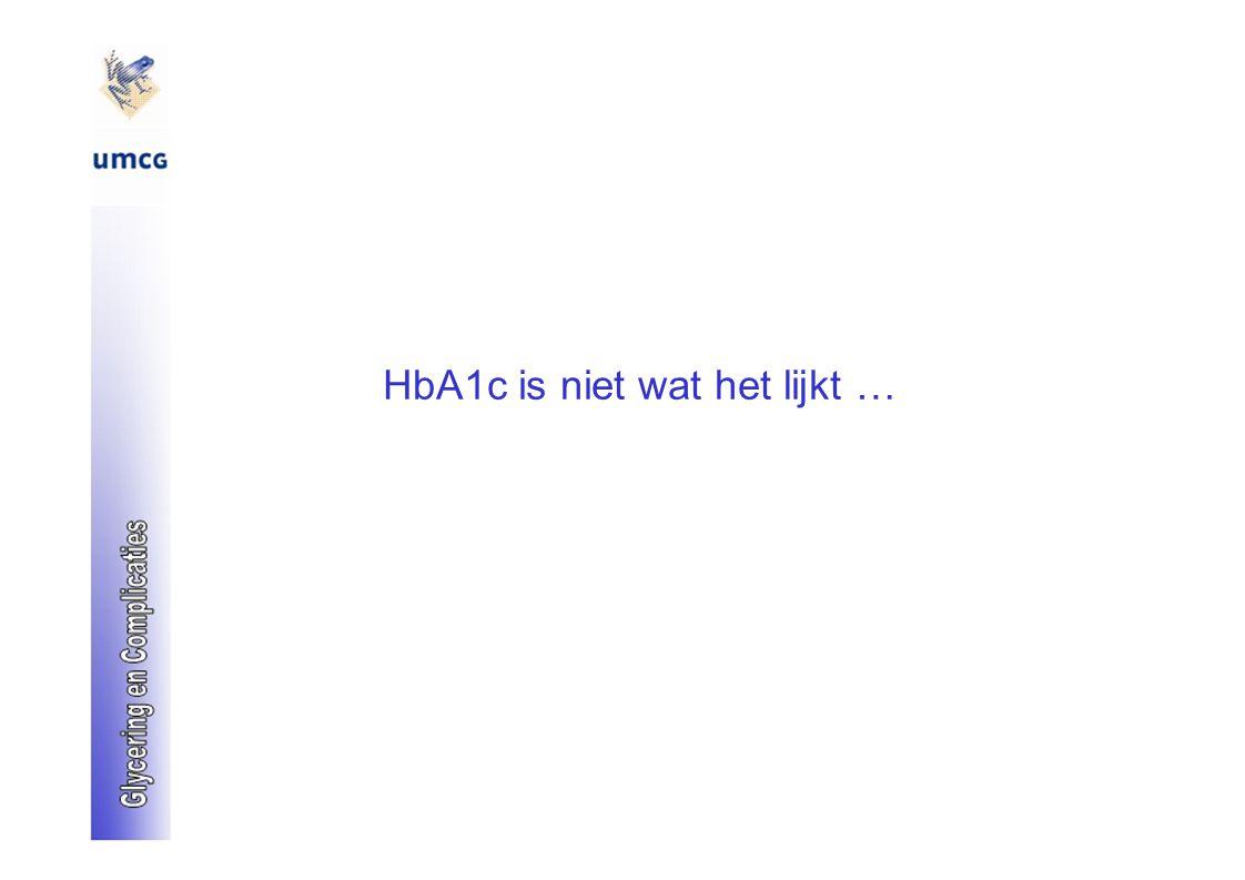 HbA1c is niet wat het lijkt …