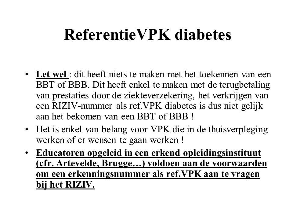 ReferentieVPK diabetes