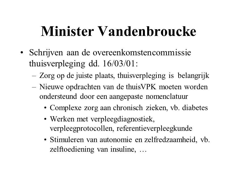 Minister Vandenbroucke