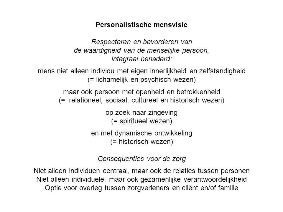 Personalistische mensvisie