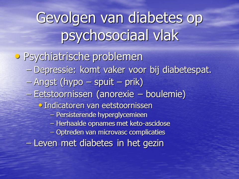 Gevolgen van diabetes op psychosociaal vlak
