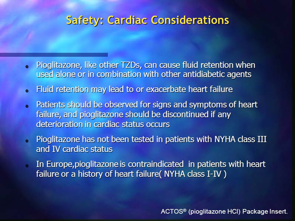 Safety: Cardiac Considerations