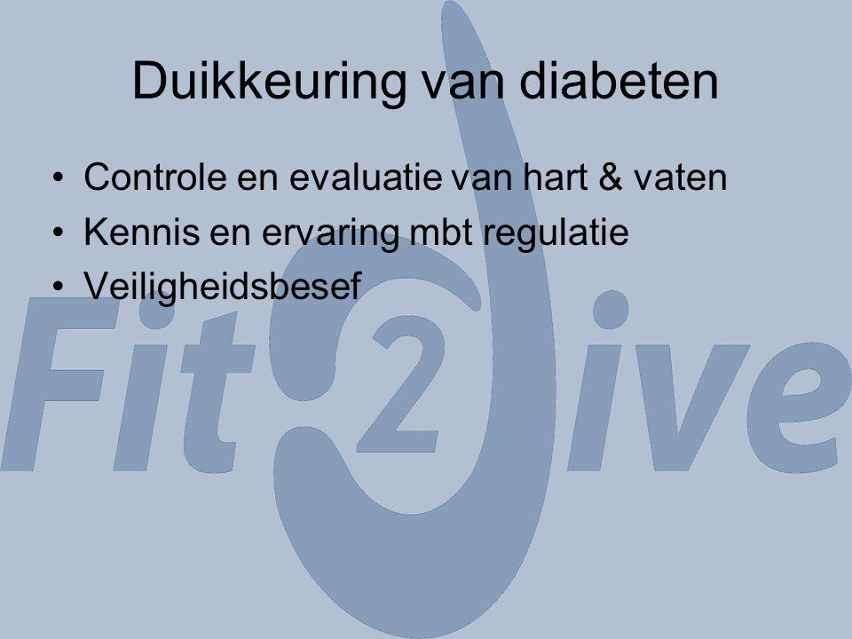 Duikkeuring van diabeten
