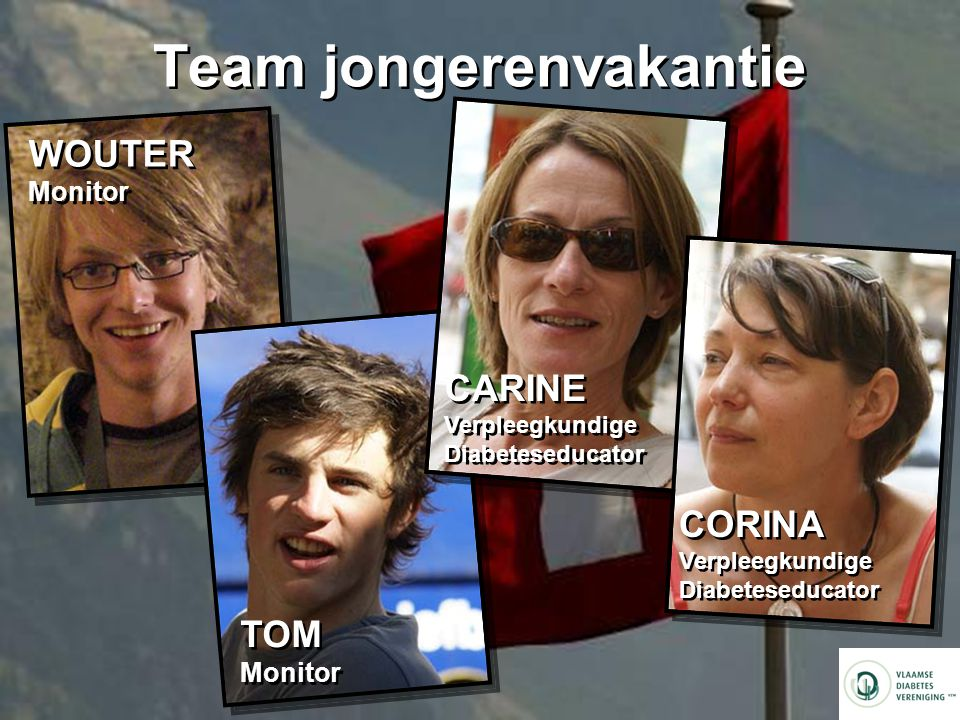 Team jongerenvakantie