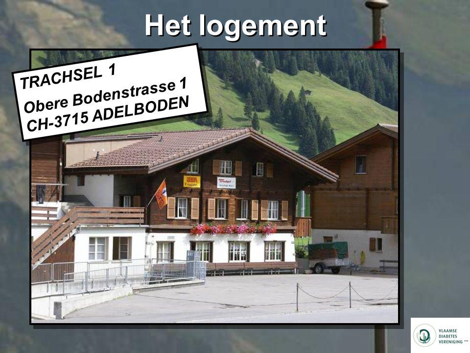 Het logement TRACHSEL 1 Obere Bodenstrasse 1 CH-3715 ADELBODEN