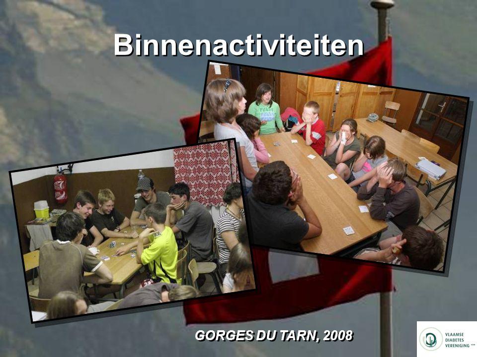 Binnenactiviteiten GORGES DU TARN, 2008