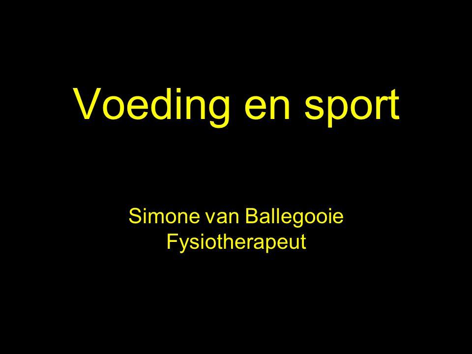 Simone van Ballegooie Fysiotherapeut