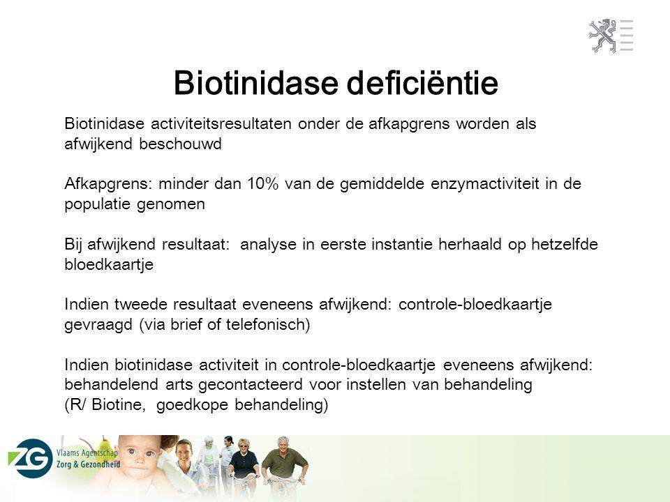 Biotinidase deficiëntie