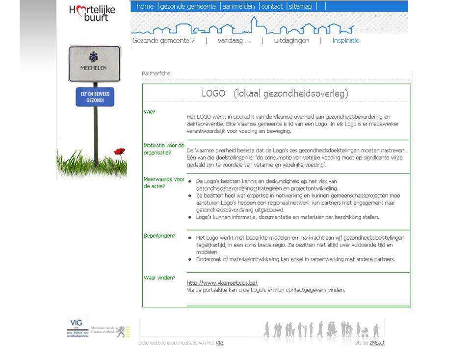 LOGO (lokaal gezondheidsoverleg)