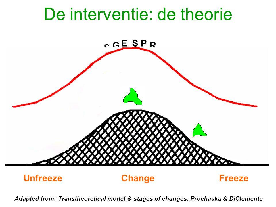 De interventie: de theorie