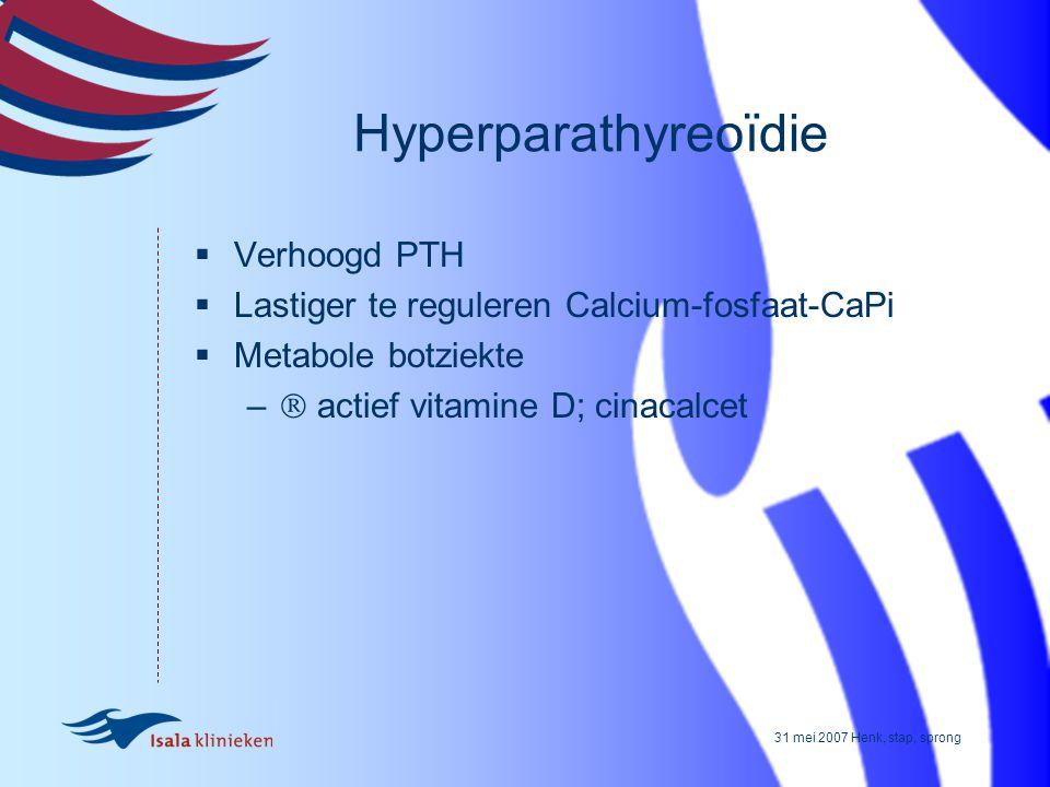Hyperparathyreoïdie Verhoogd PTH