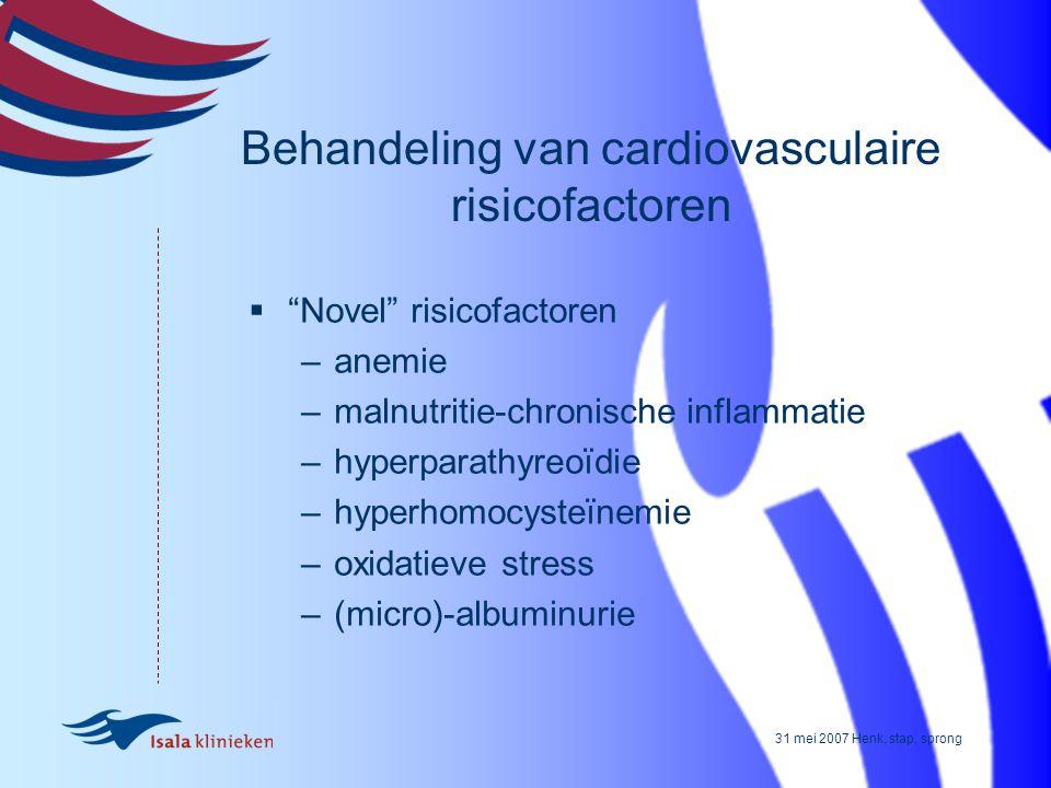 Behandeling van cardiovasculaire risicofactoren