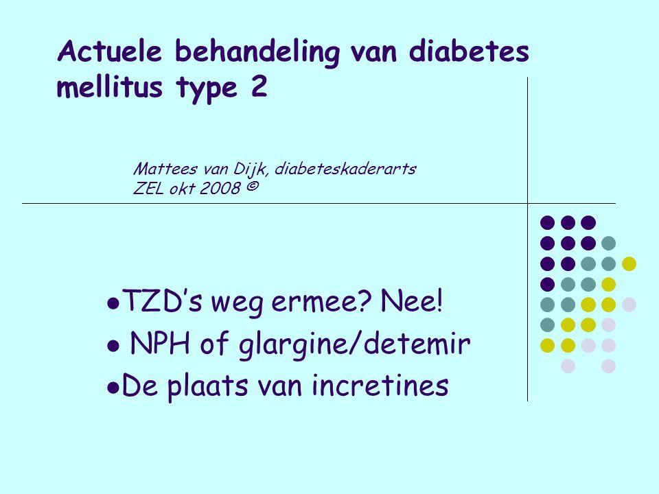 Actuele behandeling van diabetes mellitus type 2