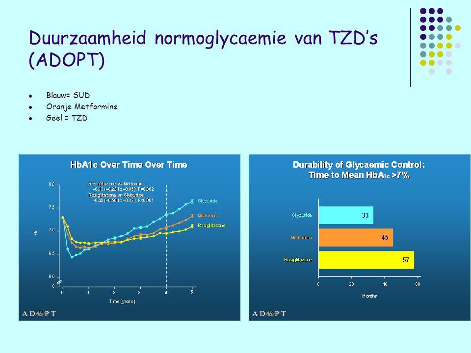 Duurzaamheid normoglycaemie van TZD's (ADOPT)