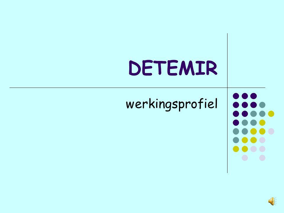 DETEMIR werkingsprofiel