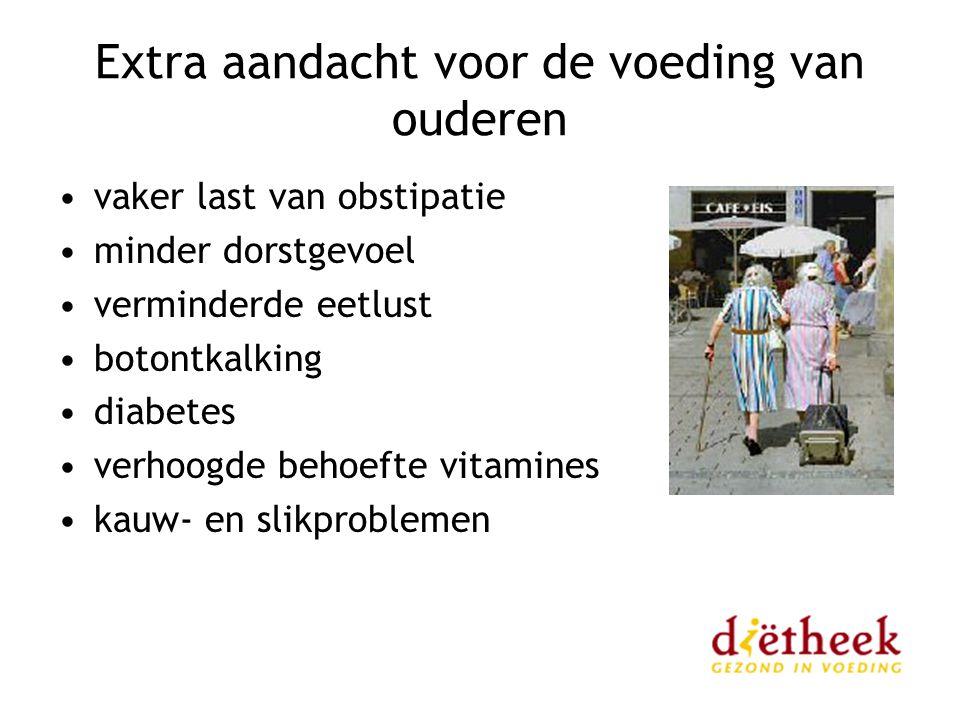 Extra aandacht voor de voeding van ouderen