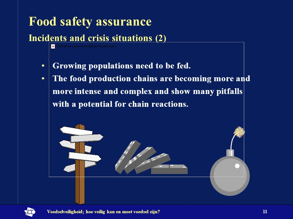 Food safety assurance Incidents and crisis situations (2)
