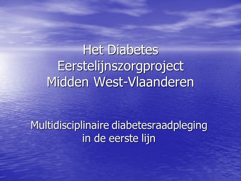 Het Diabetes Eerstelijnszorgproject Midden West-Vlaanderen