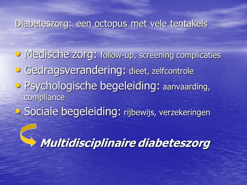 Diabeteszorg: een octopus met vele tentakels