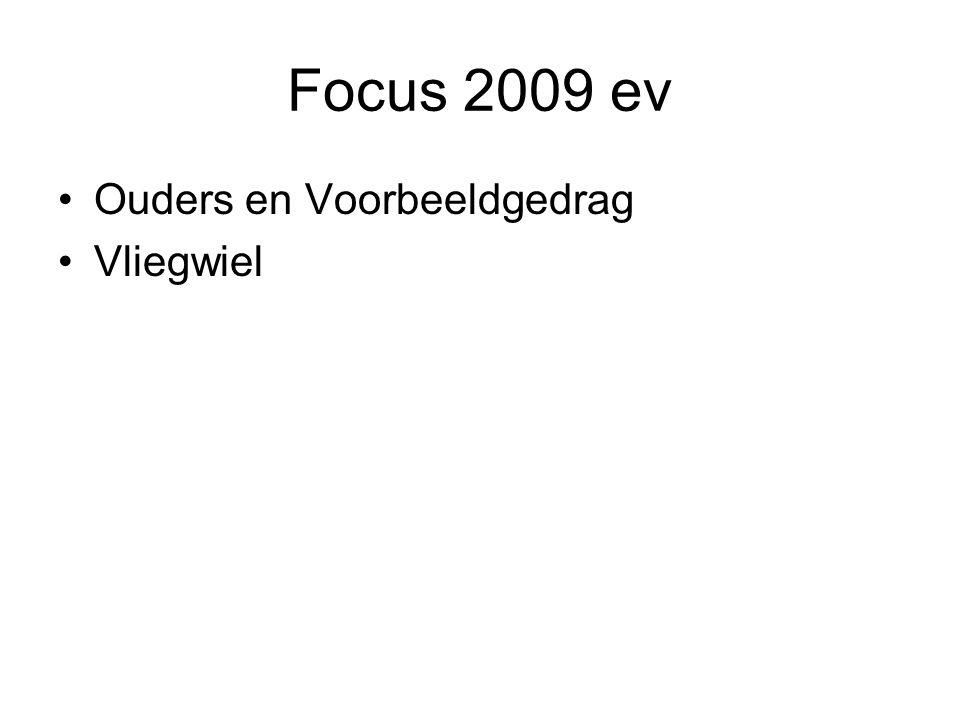 Focus 2009 ev Ouders en Voorbeeldgedrag Vliegwiel