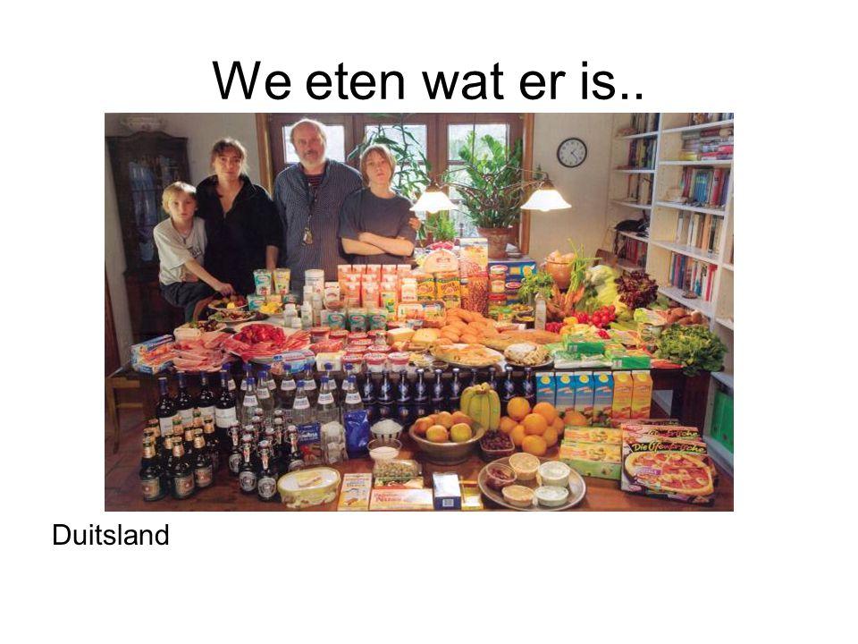 We eten wat er is.. Duitsland