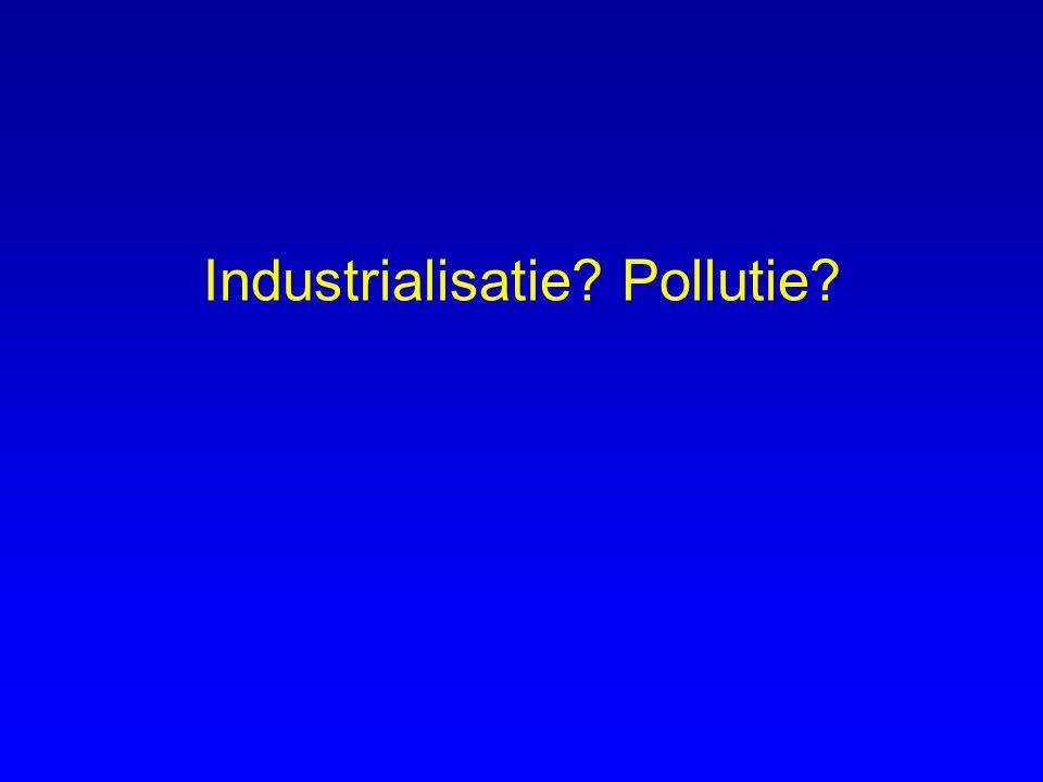 Industrialisatie Pollutie