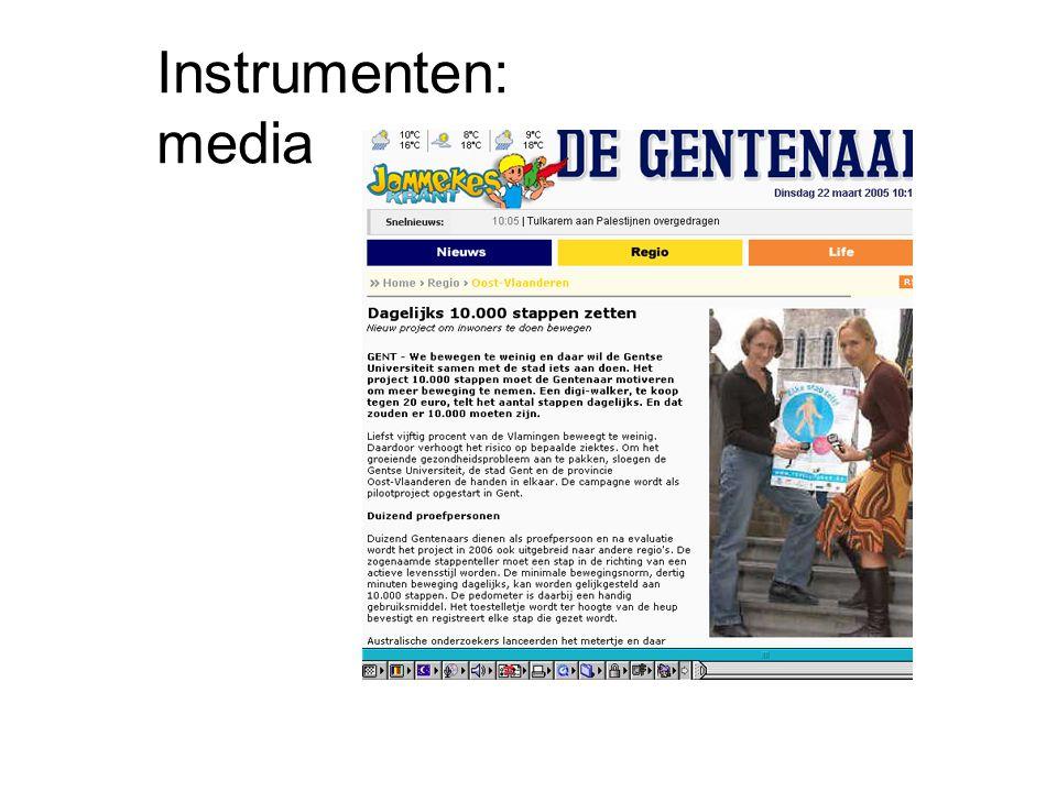 Instrumenten: media