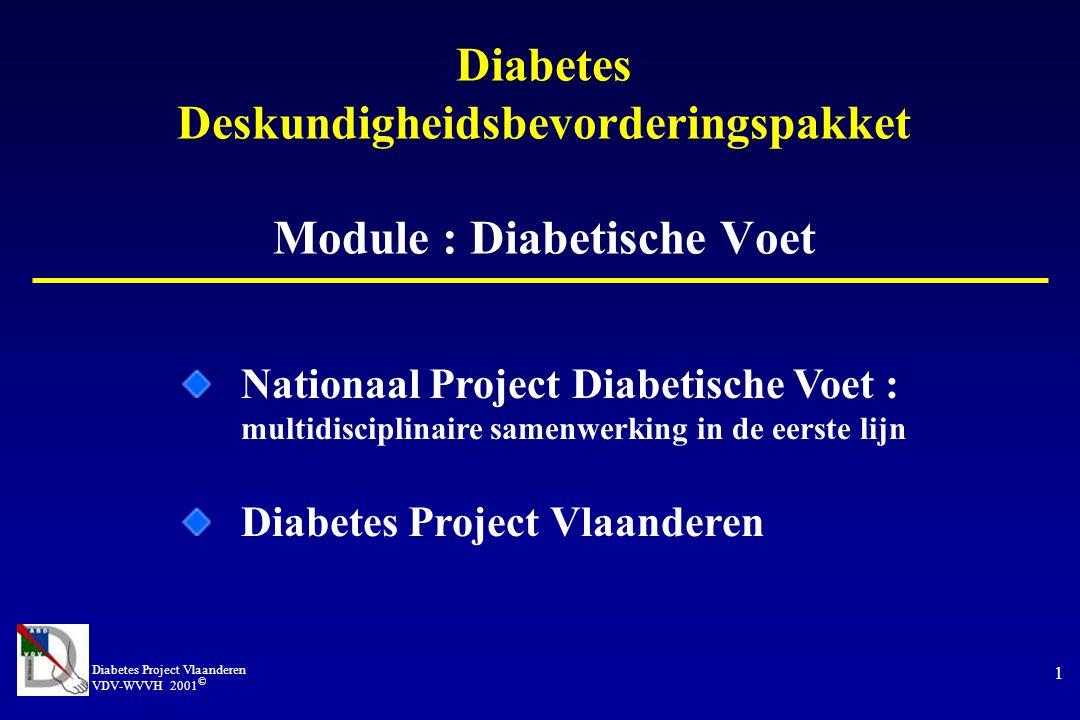 Diabetes Deskundigheidsbevorderingspakket Module : Diabetische Voet