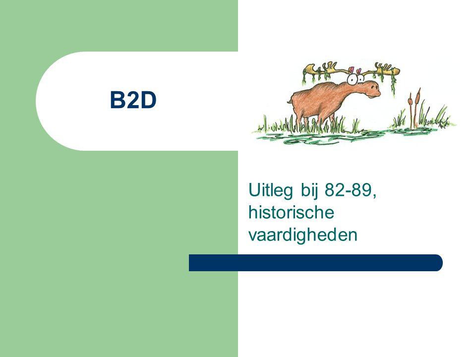 Uitleg bij 82-89, historische vaardigheden