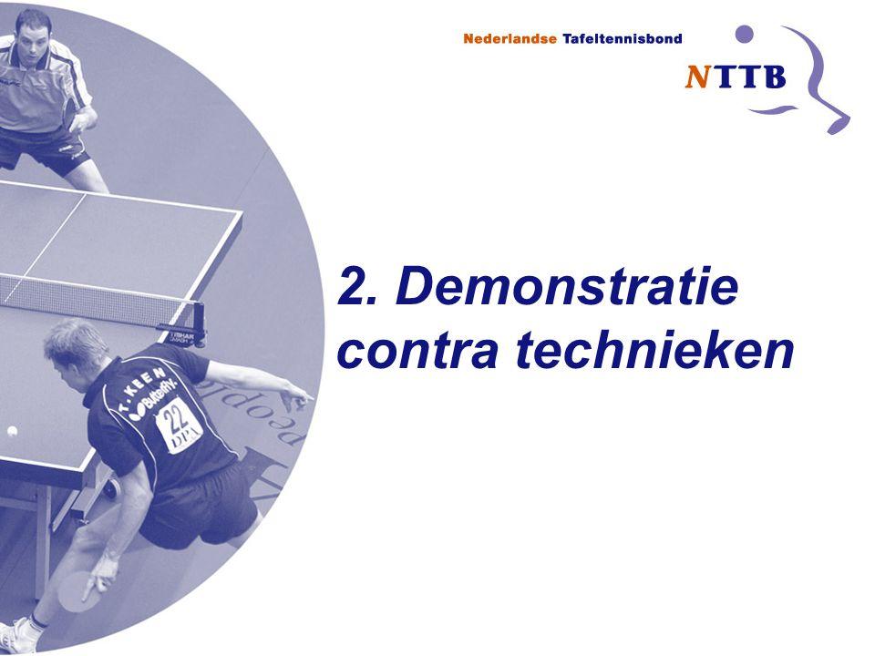2. Demonstratie contra technieken