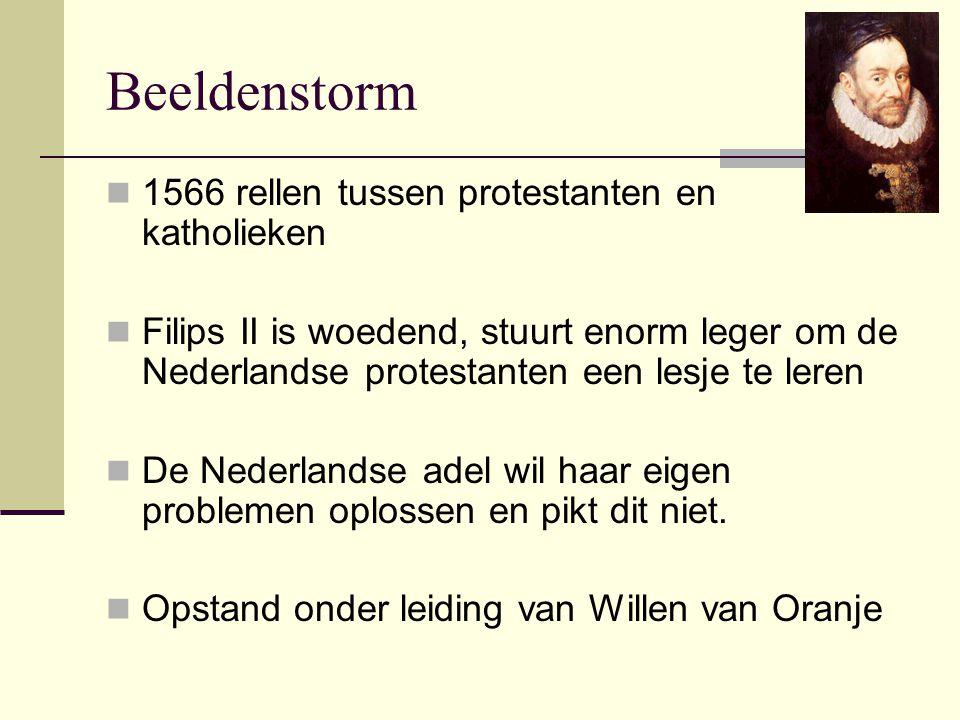 Beeldenstorm 1566 rellen tussen protestanten en katholieken