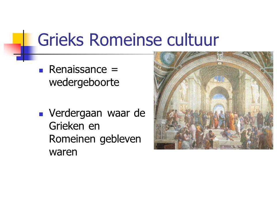 Grieks Romeinse cultuur