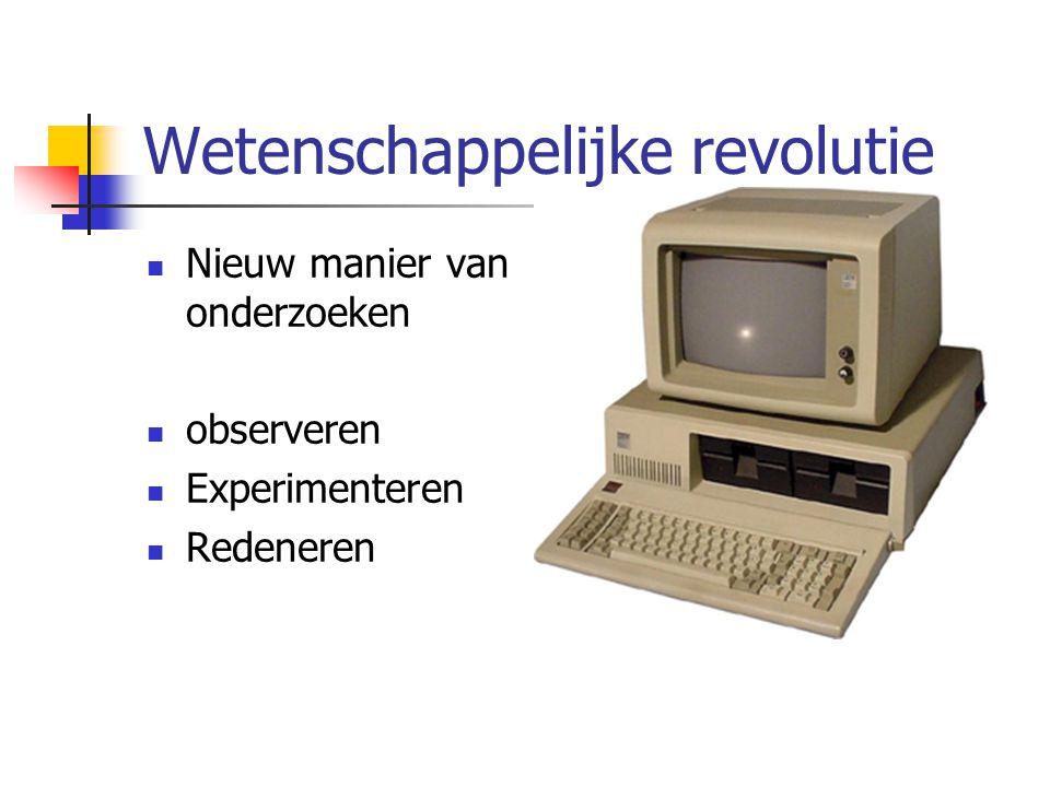 Wetenschappelijke revolutie