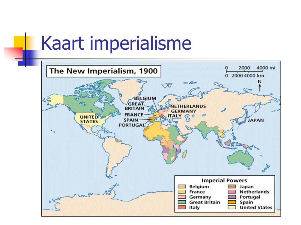 Kaart imperialisme