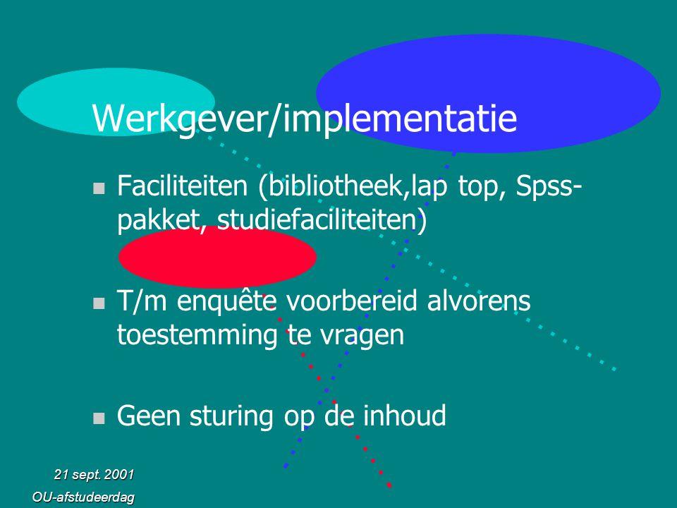 Werkgever/implementatie