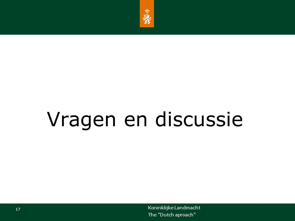 Vragen en discussie Eventuele voettekst