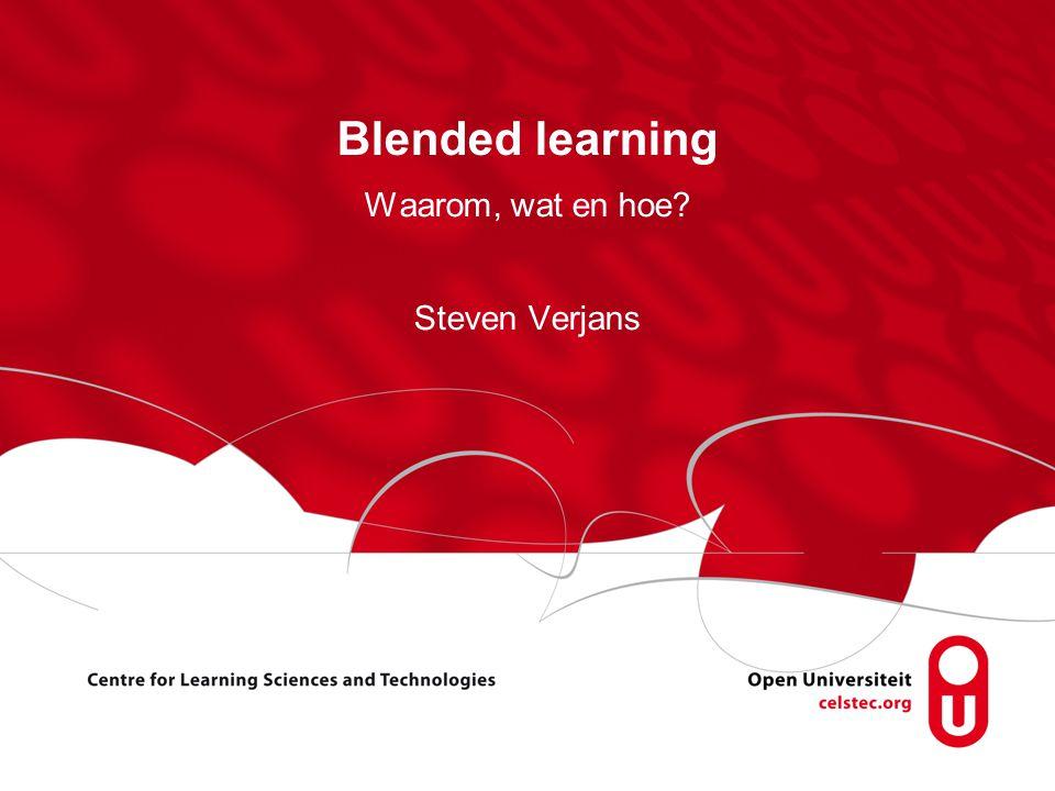 Waarom, wat en hoe Steven Verjans
