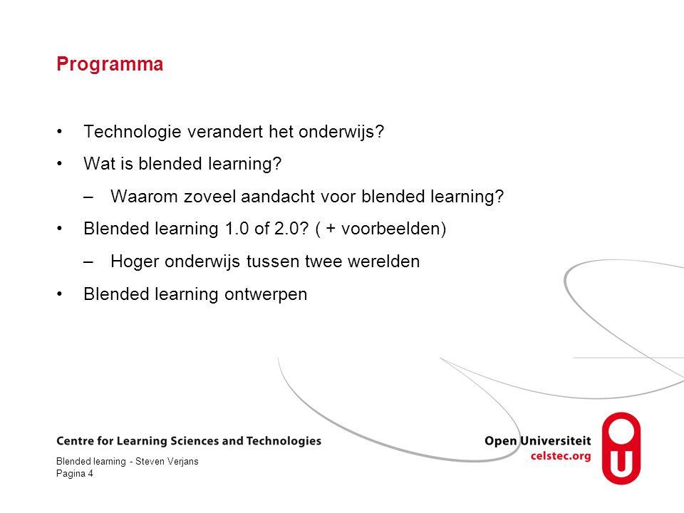 Programma Technologie verandert het onderwijs