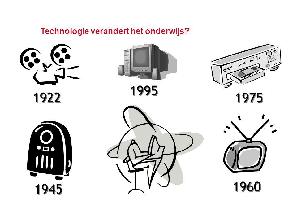 Technologie verandert het onderwijs