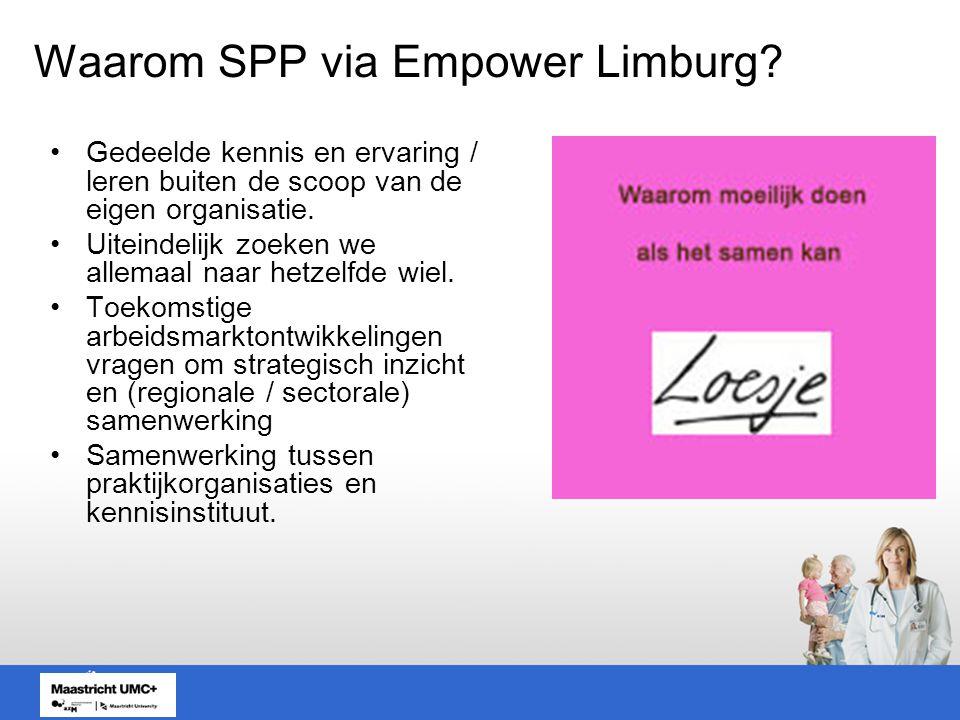 Waarom SPP via Empower Limburg