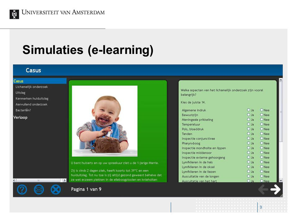 Simulaties (e-learning)