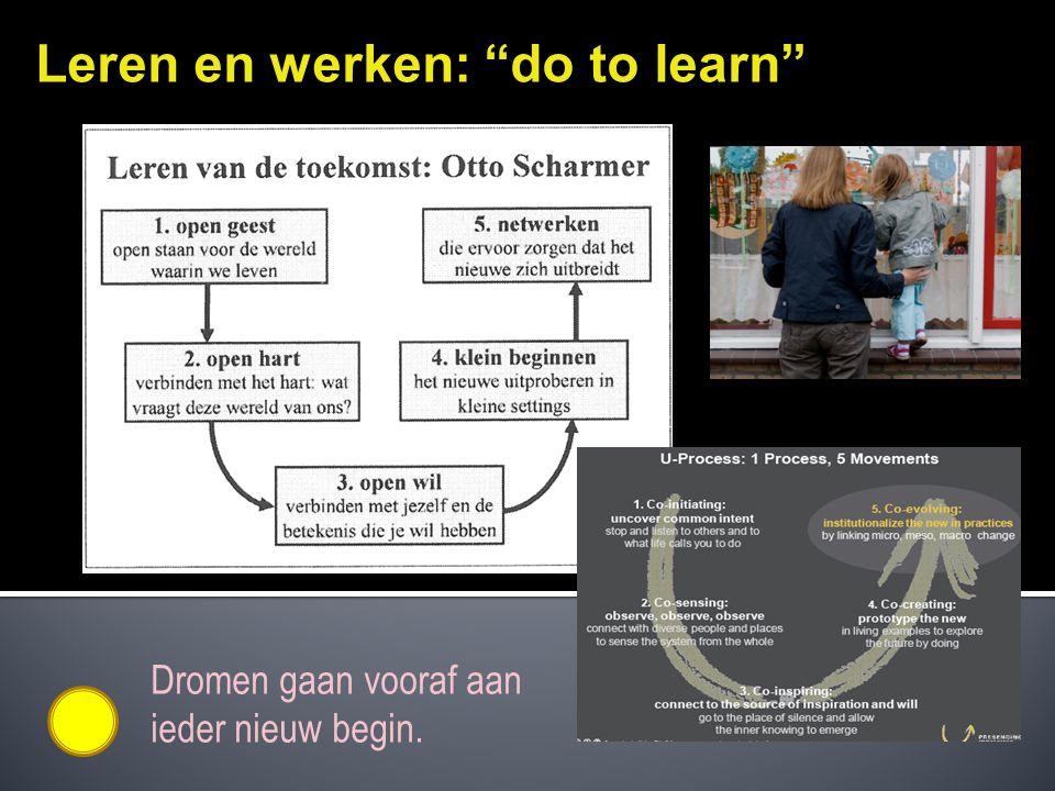 Leren en werken: do to learn