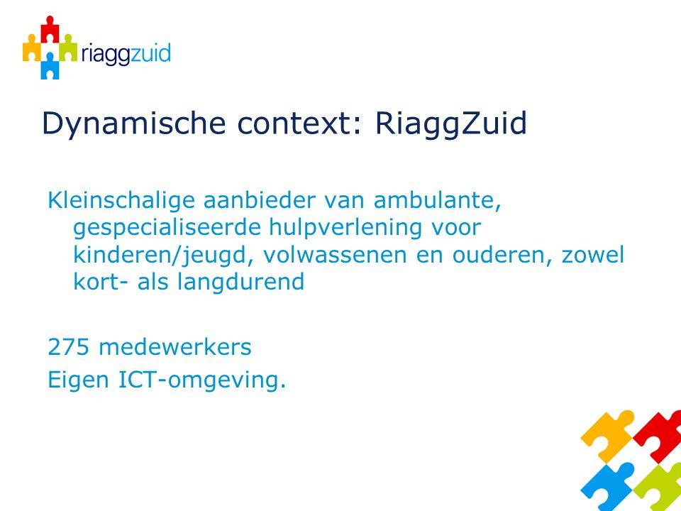 Dynamische context: RiaggZuid