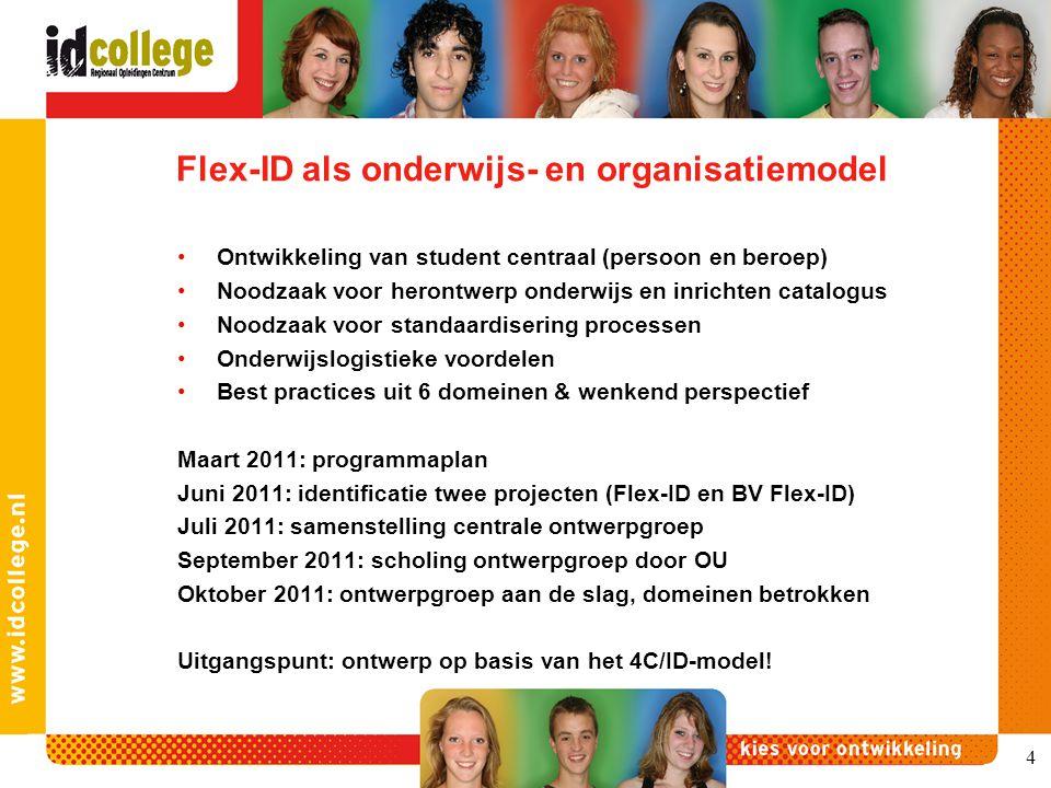Flex-ID als onderwijs- en organisatiemodel