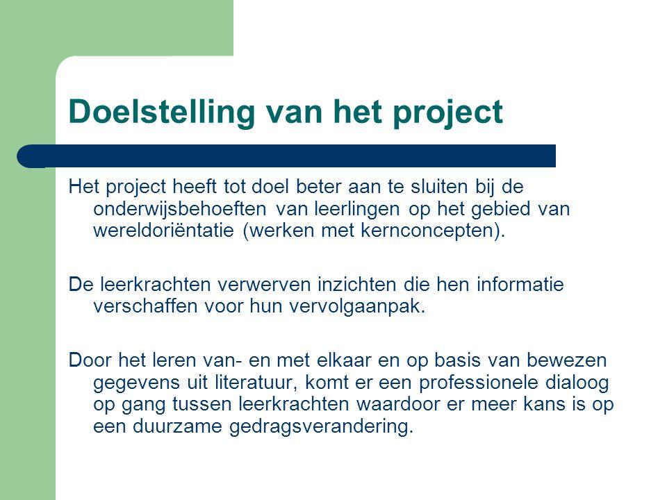 Doelstelling van het project