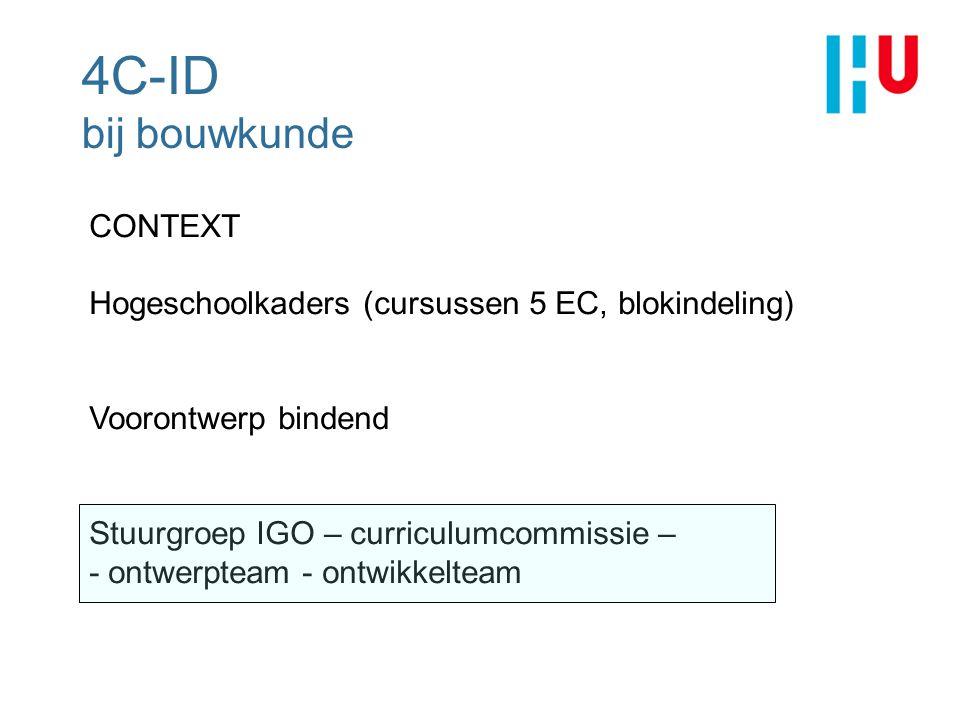 4C-ID bij bouwkunde CONTEXT