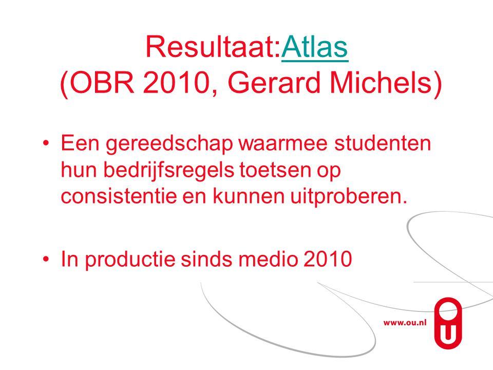 Resultaat:Atlas (OBR 2010, Gerard Michels)